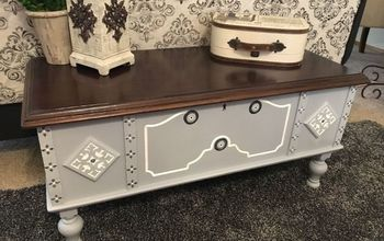 Blanket Chest Makeover