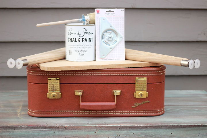 Diy Vintage Suitcase Table Hometalk