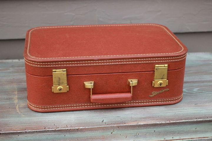 diy vintage suitcase table hometalk