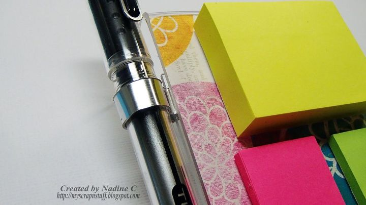 easy diy sticky notepad holders w video, crafts, home office, how to