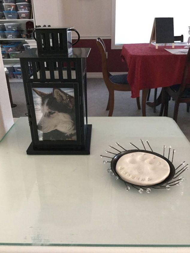 memory memorial photo lantern, crafts, lighting