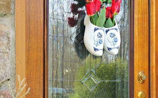 tulip wreath, crafts, flowers, wreaths
