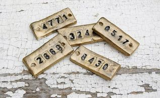 how to make vintage inspired tags, crafts, how to, storage ideas