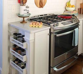 Easy Built In Spice Rack Bekvam Ikea Hack, Kitchen Design, Organizing,  Storage Ideas