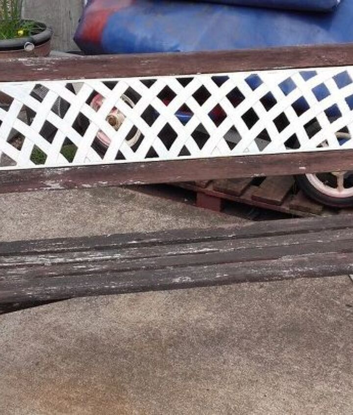 tired old bench, outdoor furniture, painted furniture