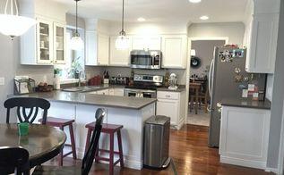 builder grade kitchen makeover, diy, kitchen design