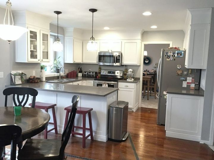Builder Grade Kitchen Makeover Diy Design