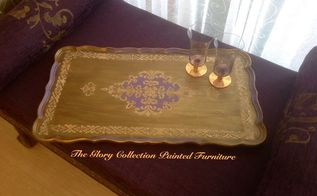 faux italian tray , painted furniture