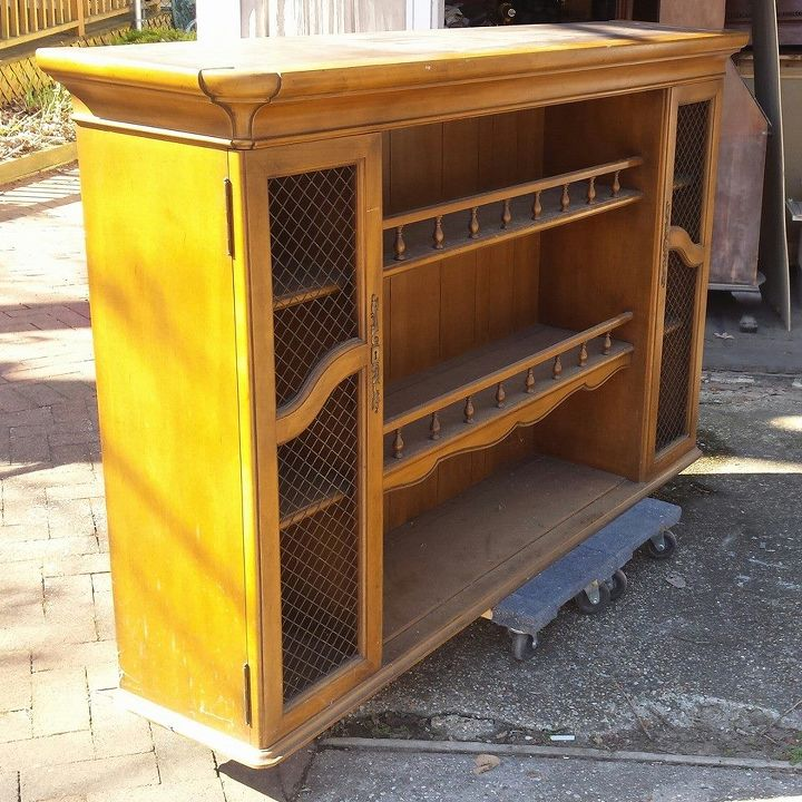 Dining Idea Room Storage: Hutch Top Repurposed Into Dining Room Storage/Buffet