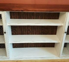 Elegant Hutch Top Repurposed Into Dining Room Storage Buffet, Dining Room Ideas,  Painted Furniture,