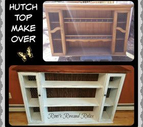 Hutch Top Repurposed Into Dining Room Storage Buffet, Dining Room Ideas,  Painted Furniture,
