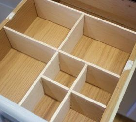 How To Quickly Cheaply Create A Drawer Organizer, Diy, How To, Kitchen  Cabinets