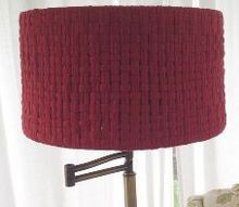 reviving a vintage lampshade, crafts, lighting