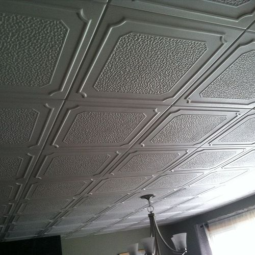 How to repair a popcorn ceilings that had water damage