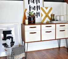free credenza gets a new life , painted furniture