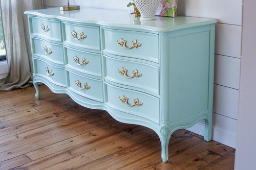 French Provincial Dresser In Mint Hometalk