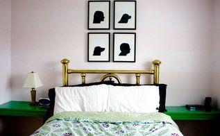 diy silhouettes, wall decor
