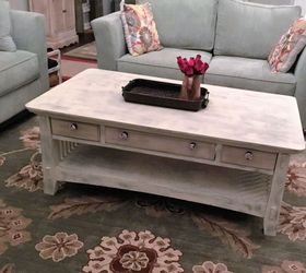 Shabby Chic Coffee Table, Chalk Paint, Painted Furniture, Shabby Chic,  Finished Product