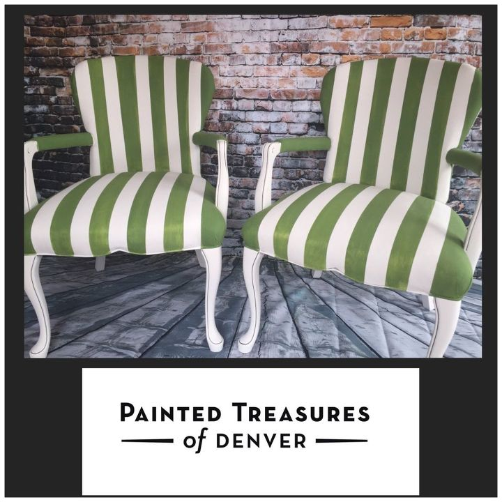 Paint Fabric Chairs And Old Upholstery