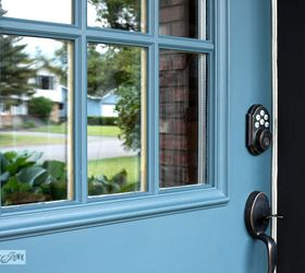 from ugly front door to overnight sensation fast  curb appeal doors paint colors & From Ugly Front Door to Overnight Sensation Thanks to a Little ...
