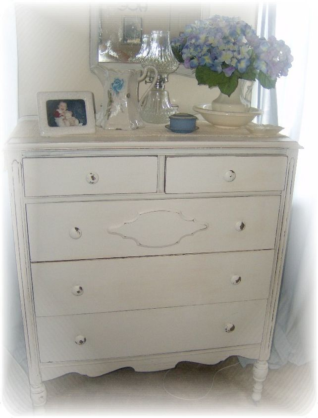 a thrift store dresser gets an equestrian inspired makeover, bedroom ideas, painted furniture, shabby chic