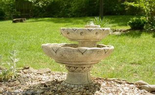 how to run and maintain an outdoor water fountain, cleaning tips, home maintenance repairs, how to, ponds water features