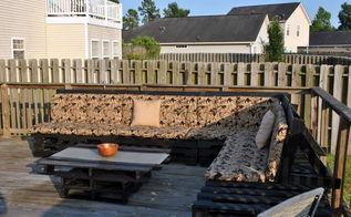 for big decks like mine , decks, diy, outdoor furniture, pallet, woodworking projects
