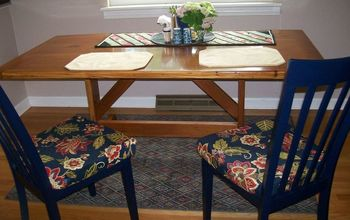 Dining Table Completed!  Plus 2 Chairs Finished!