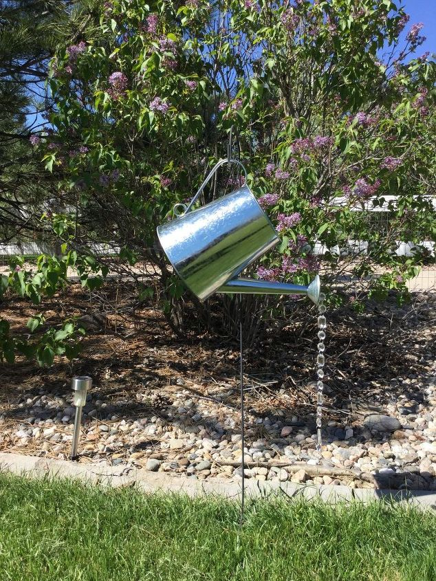 Watering Can Yard Decor Crafts Gardening Outdoor Living