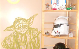 star wars boys bedroom, bedroom ideas, painting