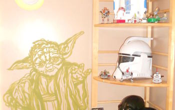 star wars boys bedroom, bedroom ideas, painting