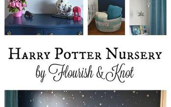 harry potter nursery, bedroom ideas, home decor, painting