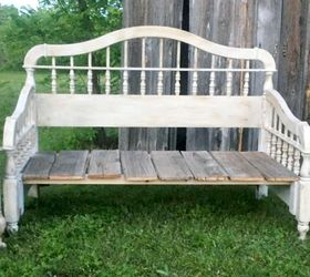 Diy Upcycled Rustic Bedhead Bench, Chalk Paint, Outdoor Furniture, Painted  Furniture, Repurposing Part 54