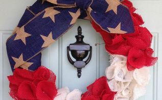 q what have you diy d to show off your patriotic pride , Find her full wreath post HERE