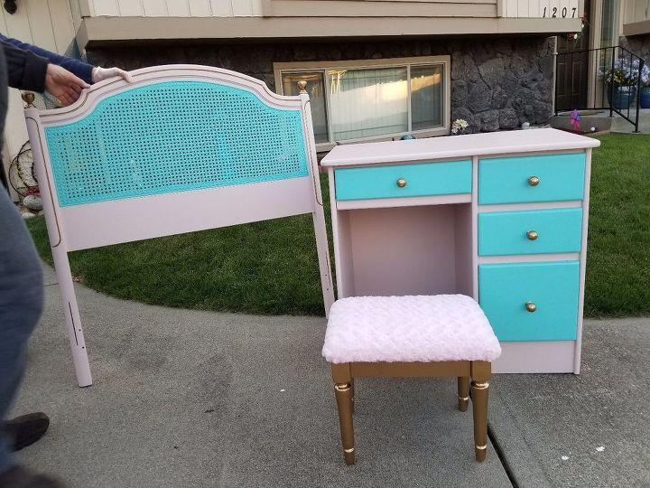 bedroom furniture makeover, bedroom ideas, painted furniture