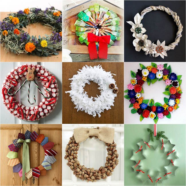 Dollar Store Hack: Laundry Basket Into Wreath Makers