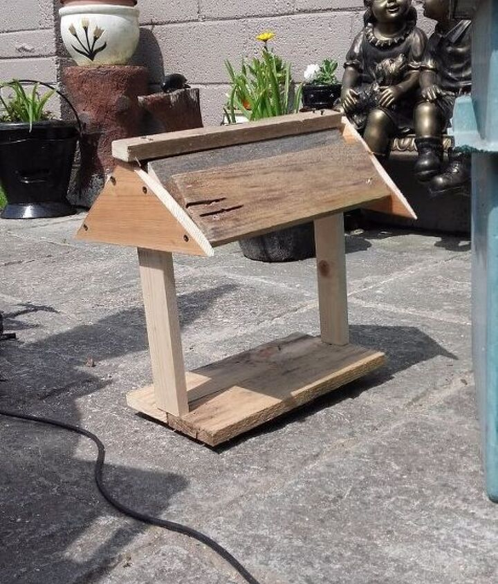 this one s for the birds, animals, outdoor furniture, pets animals, woodworking projects