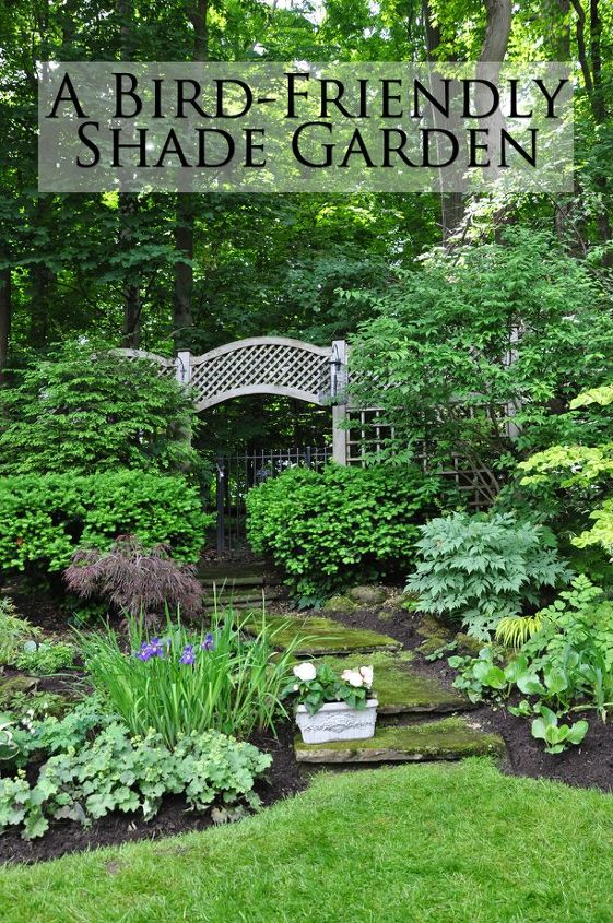 two amazing shade gardens, gardening, outdoor living