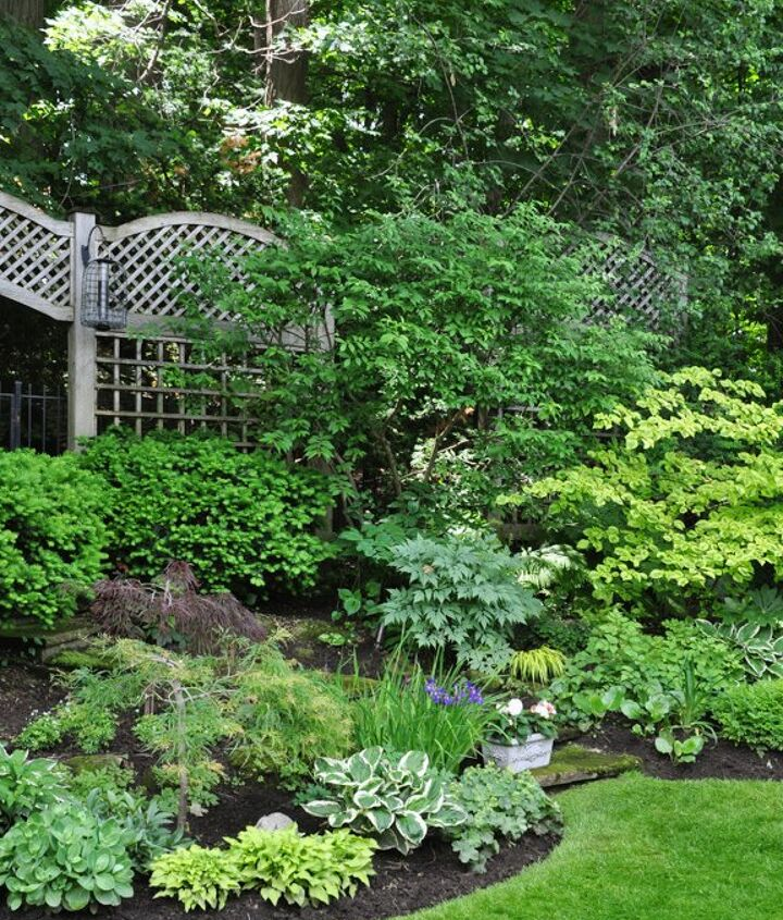 two amazing shade gardens, gardening, outdoor living