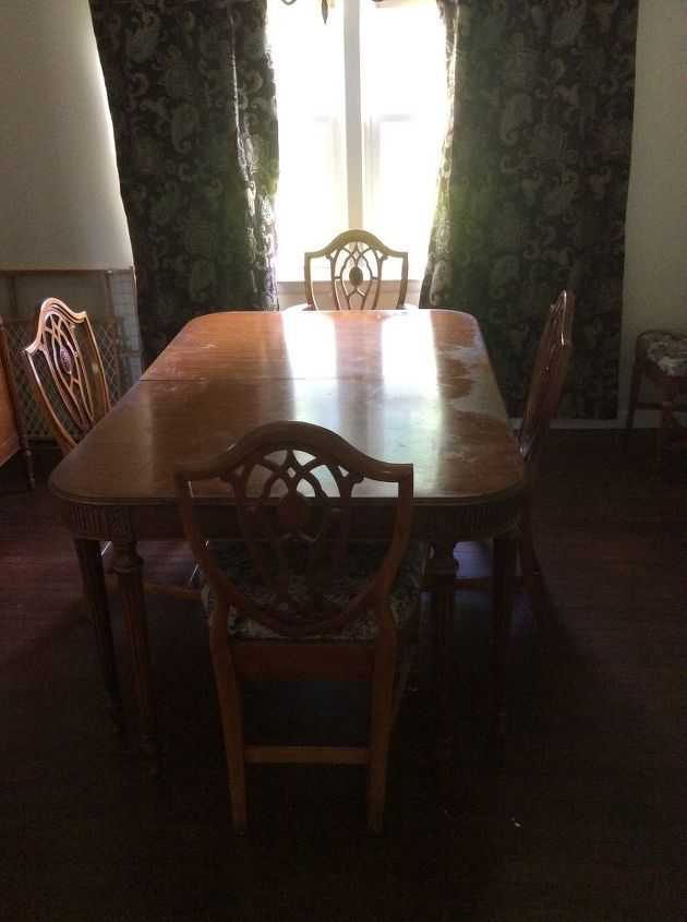 Dining room table and chairs - How To Find Out The Value Of Antique Furniture Hometalk
