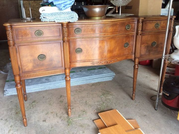 Buffet - How To Find Out The Value Of Antique Furniture Hometalk