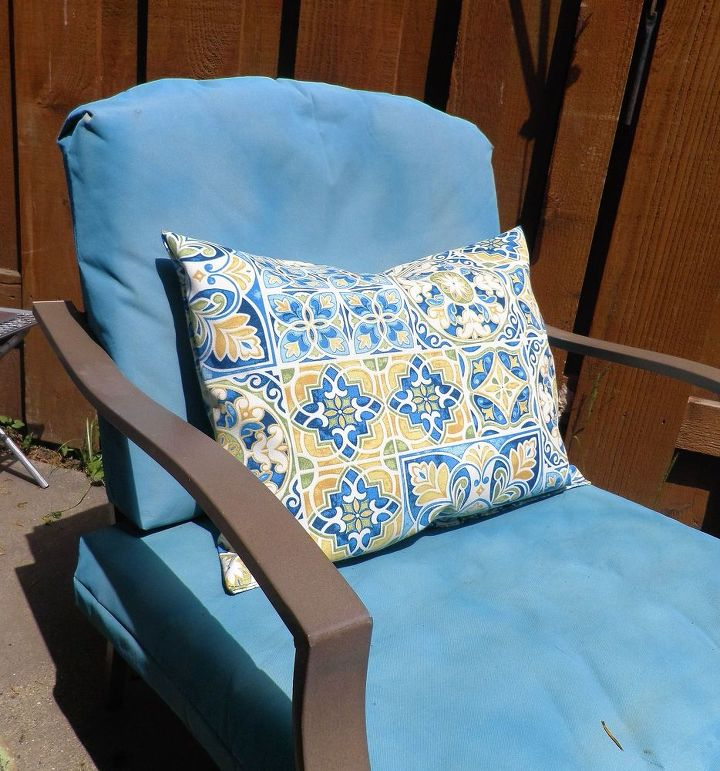 velcro to the rescue no more outdoor cushions blowing away , how to, outdoor  furniture - Velcro To The Rescue! No More Outdoor Cushions Blowing Away! Hometalk