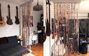 Suspended Fabric Wall / Room Divider