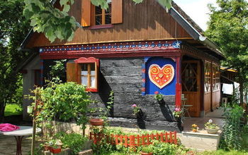 Traditional Croatian Wooden House Spring Update
