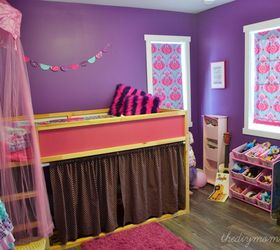 A Shabby Chic, Glam Little Girlu0027s Bedroom Makeover In Pink U0026 Gold | Hometalk