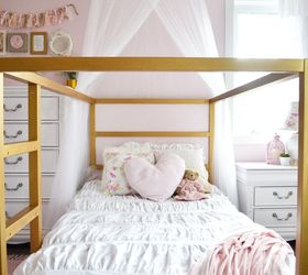 Superbe A Shabby Chic Glam Little Girl S Bedroom Makeover In Pink Gold, Bedroom  Ideas,