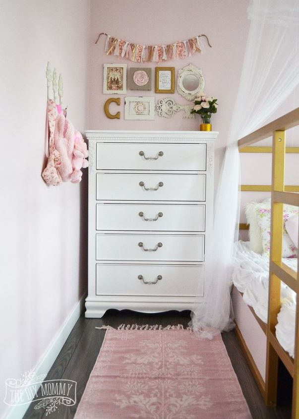 a shabby chic glam little girl s bedroom makeover in pink gold  bedroom  ideas. A Shabby Chic  Glam Little Girl s Bedroom Makeover in Pink   Gold