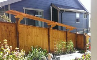 how to up cycle a standard 6 ft cedar fence, fences, how to, woodworking projects