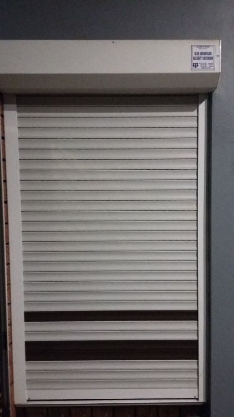 q painting security shutters, interior home painting, painting, window treatments, windows