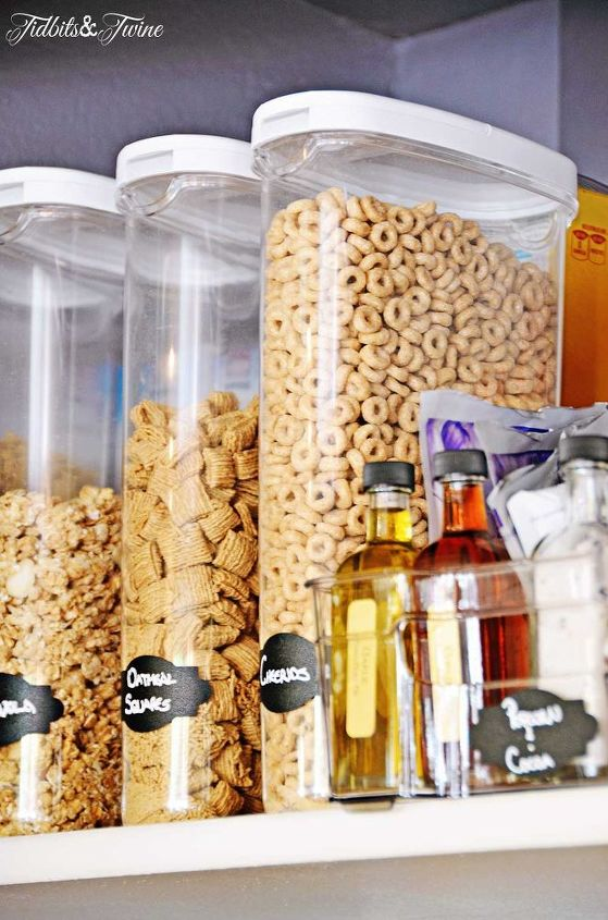 s 10 things pro organizers keep in their pantry all year long, closet, kitchen design, organizing, Air Tight Containers
